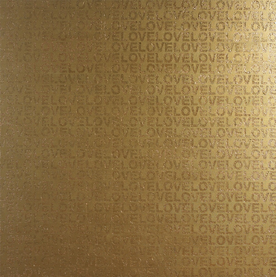 Gold in Love, 2007 Propene, mixed materials 150 x 150 cm