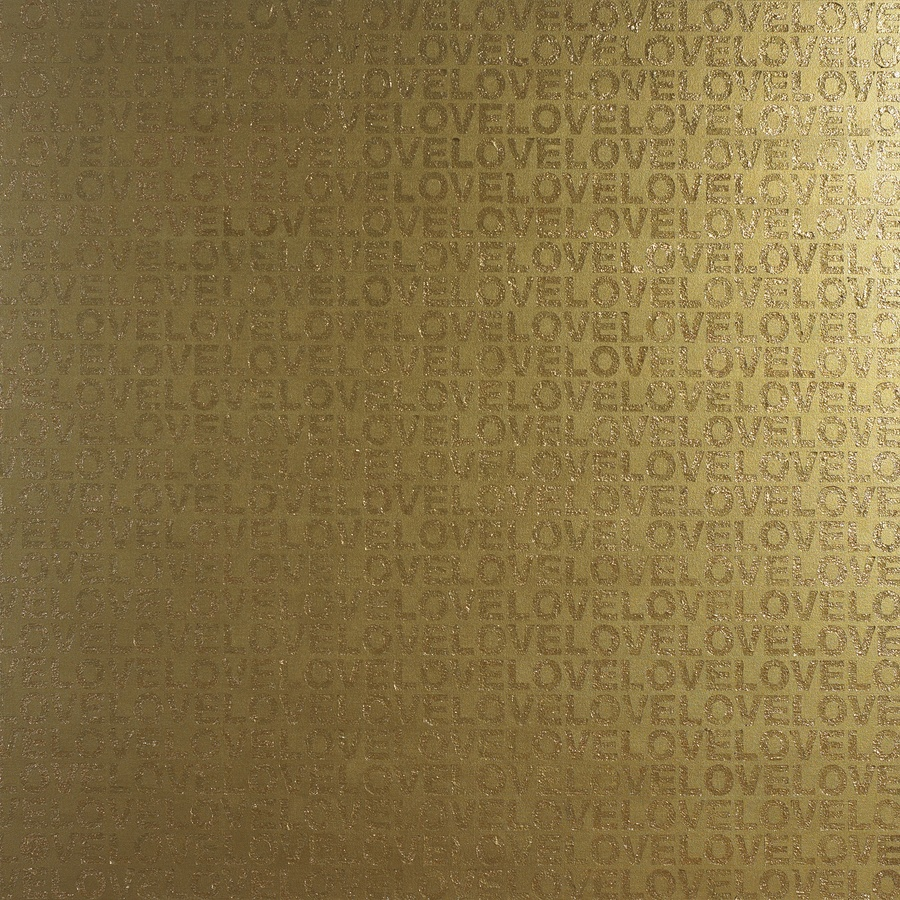 <p><strong><em>Gold in Love</em></strong>, 2007</p><p>Propene, mixed materials</p><p>150 x 150 cm</p>